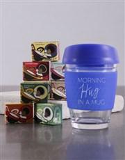 Personalised Morning Hug In a Travel Mug