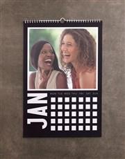 Personalised Minimalist Wall Calendar
