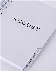 Personalised Carpe Diem Diary
