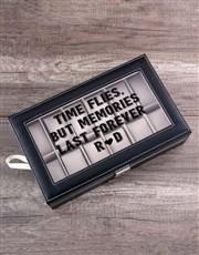 Personalised Memories Watch Box