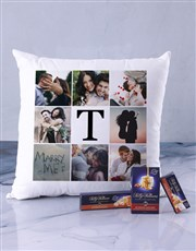 Personalised Memory Collage Scatter Cushion