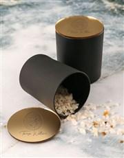 Personalised Glamorous Vanilla Scented Candle Set