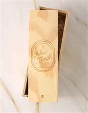 Personalised Vintage Jameson Crate