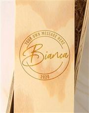 Personalised Stamp Springfield Sauv Blanc Crate