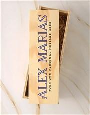 Personalised Traditional Allesverloren Tinta Crate