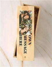 Personalised Photo Nederburg Riesling Crate