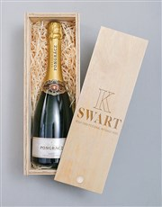 Personalised Bubbly Pongracz Crate