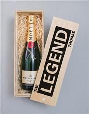 Personalised Legend Pongracz Crate