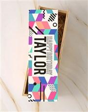 Personalised Birthday La Motte Crate