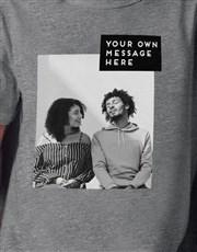 Personalised Block Image T Shirt