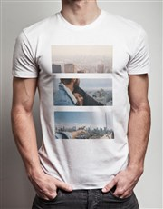 Personalised Triptych Photo T Shirt