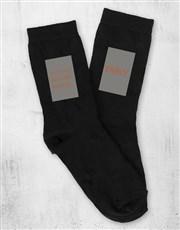 Personalised Things I love Sock Pack