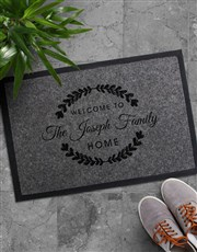 Personalised Family Home Doormat