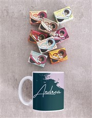 Personalised Modern Painterly Mug