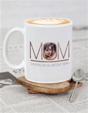 Personalised Mom Love Mug