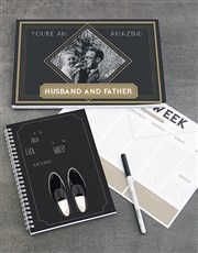 Personalised Husband And Father Note Set