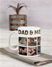Personalised Dad and Me Mug