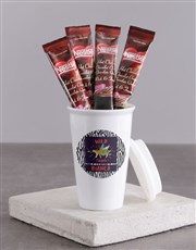 Personalised Wild Thing Ceramic Travel Mug
