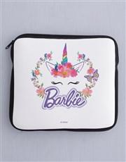 Personalised Barbie Unicorn Kids Tablet Cover