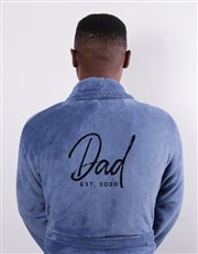 Personalised Dad Since Blue Gown