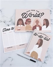 Personalised What You Got Desk Set