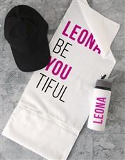 Personalised BeYouTiful Gym Towel Set