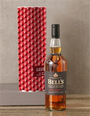 Personalised Bells Whisky Tube