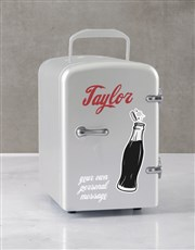 Personalised Cola White Desk Fridge