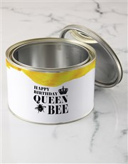 Personalised Queen Bee T Shirt Tin