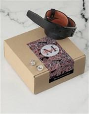 Personalised Black Floral Apparel Box