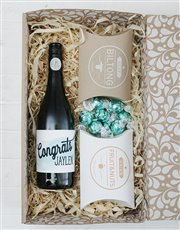 Say congrats with this fantastic gourmet hamper wh