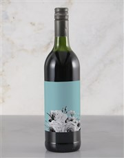 Personalised Floral Message Rietvallei Wine