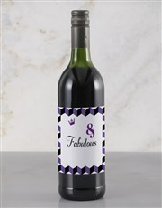 Personalised Fabulous Rietvallei Wine