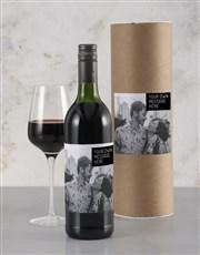 Personalised Refined Anniversary Wine