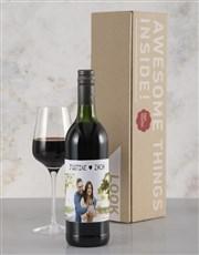 Personalised Heartfelt Photo Rietvallei Wine