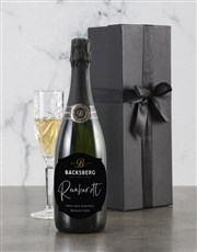 Personalised Regal Backsberg Wine
