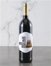 Personalised Photo Message Backsberg Wine