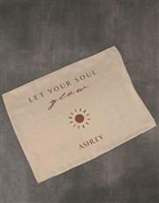 Personalised Soul Glow Gold Pillowcase