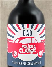 Thankt that classic dad of yours with a bottle of