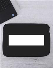 Personalised Name Laptop Sleeve