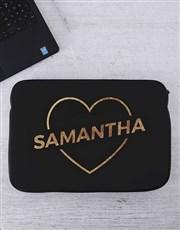 Personalised Love Laptop Sleeve