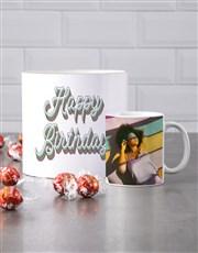 Personalised Happy Birthday Mug Tube