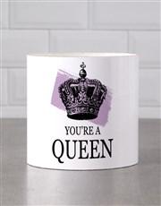 Personalised Queen Mug Tube