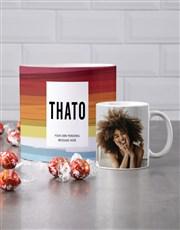 Personalised Watercolour Mug Tube