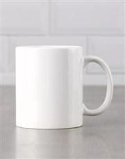 Personalised Floral Mug Tube