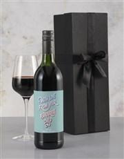 Personalised Favourite Child Rietvallei Wine