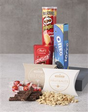 Personalised Snacks Hessian Bag