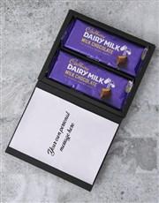 Personalised Love You Cadbury Card