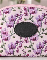Personalised Orchid Opulence Cosmetic Bag