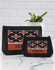 Patterned Perfection Cosmetic Bag